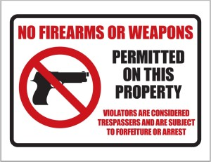 No-Guns-Sign